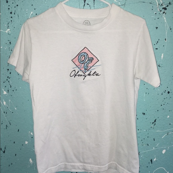 1d6ddd119412 OFWGKTA white t-shirt. M 5b2bf0e0aaa5b8efeeaf28d3. Other Tops you may like. Odd  Future ...